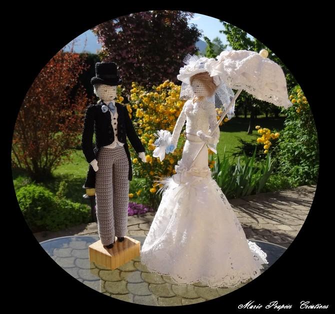 Robe de mariée belle époque