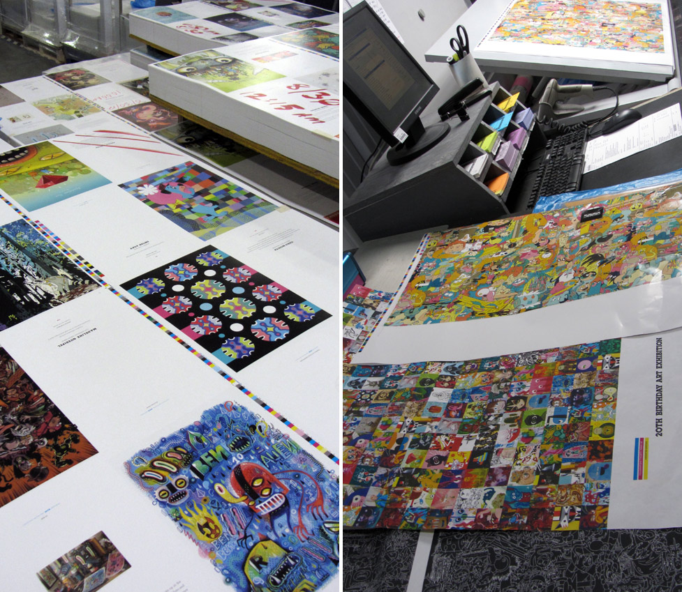 Cartoon Network Birthday Book Printing