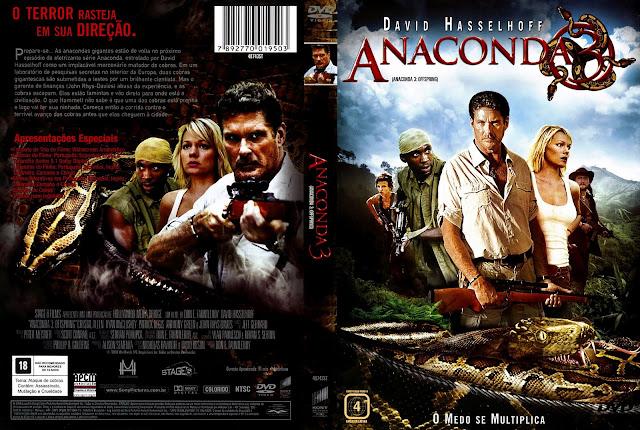 Capa DVD Anaconda 3
