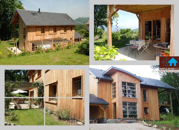 IMPULSION BOIS Maison ossature bois, architecture travaillée