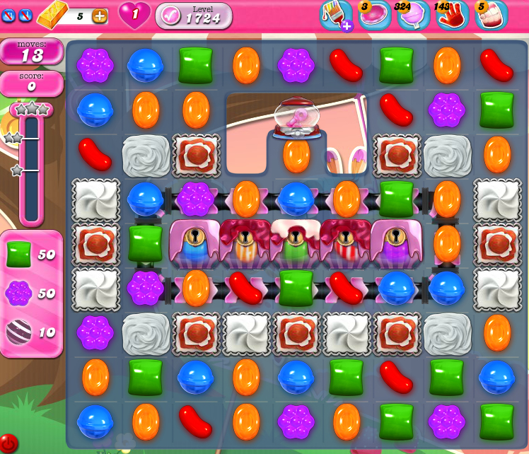 Candy Crush Saga 1724