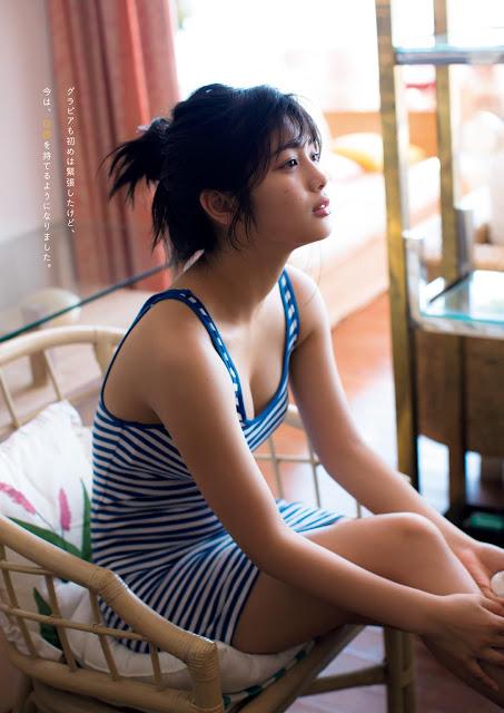 SKE48 Kitano Ruka 北野瑠華 Weekly Playboy No 31 2017 Photos