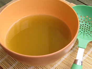 image of a bowl of Japanese broth