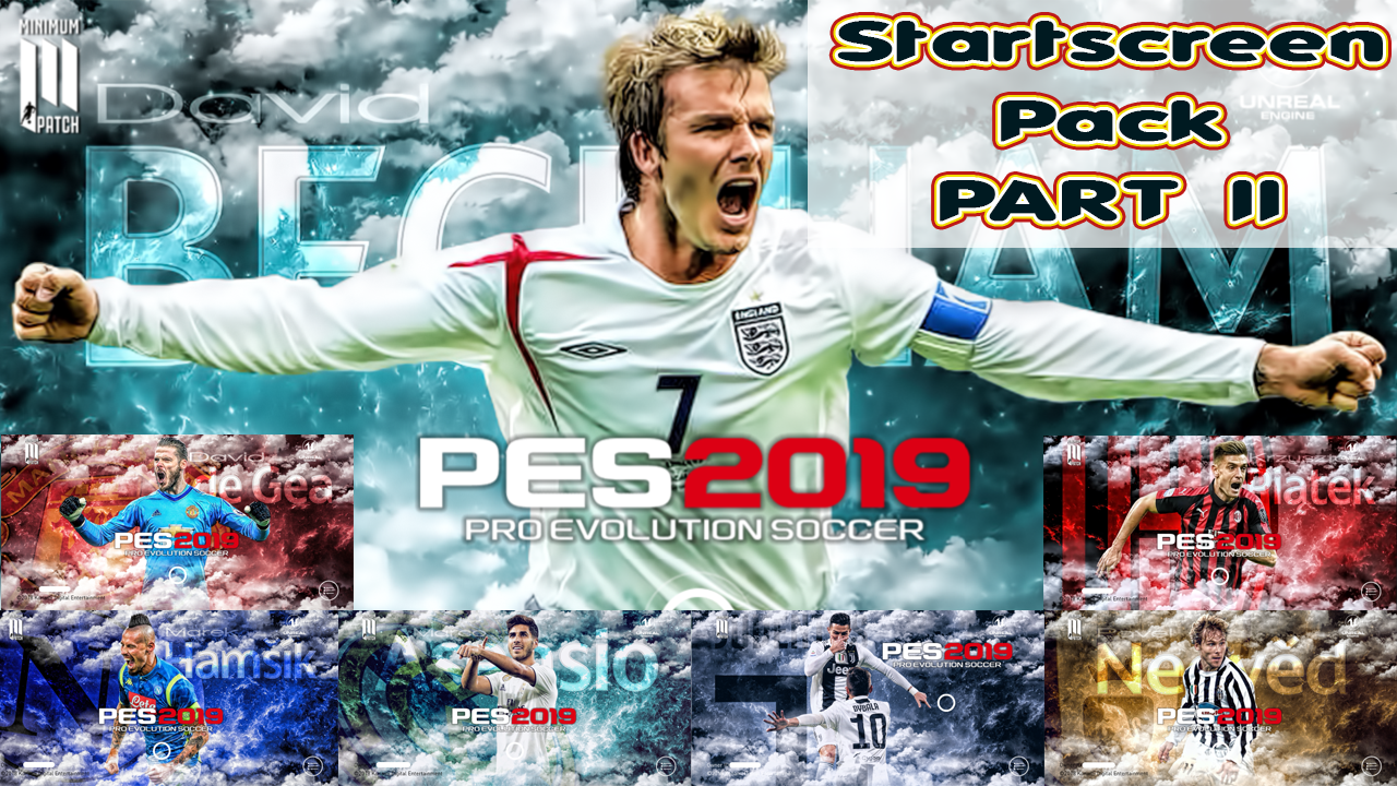 STARTSCREEN PACK PART II FOR PES 2019 Mobile | Minimum Patch