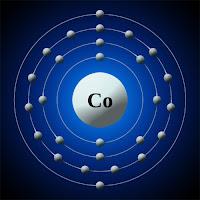 Kobalt atomu ve elektronları