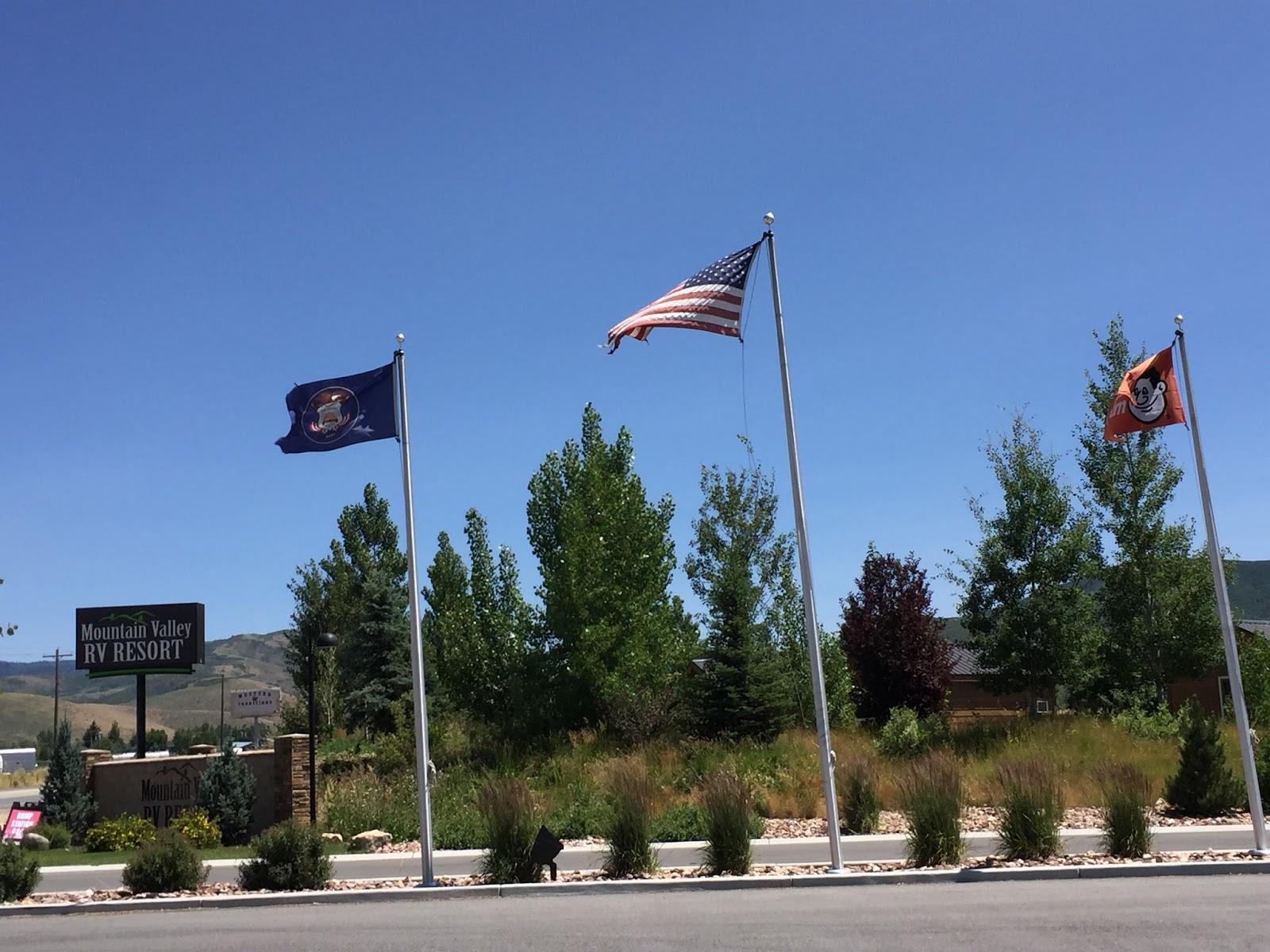 blue sky ahead: mountain valley rv resort, heber city, utah