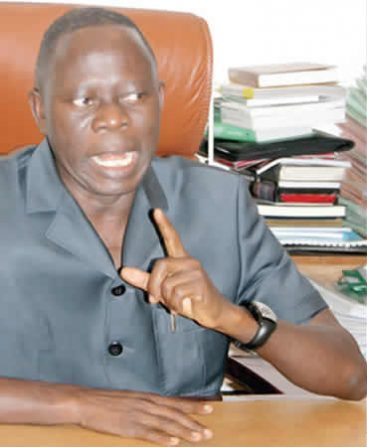OSHIOMHOLE PLANING TO TAKE OVER LEADERSHIP FROM BUHARI