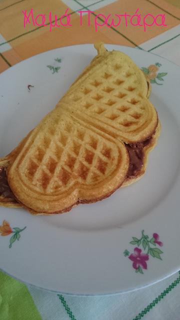 Αυτή την εβδομάδα χάρηκα γιατί - 44η εβδομάδα- waffle breakfast