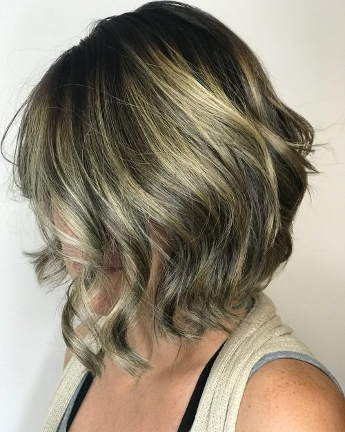 balayage 2019 hair color for short hair