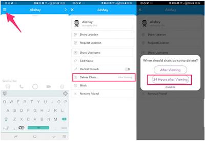 Cara Menjaga Obrolan Selama 24 Jam Di Snapchat