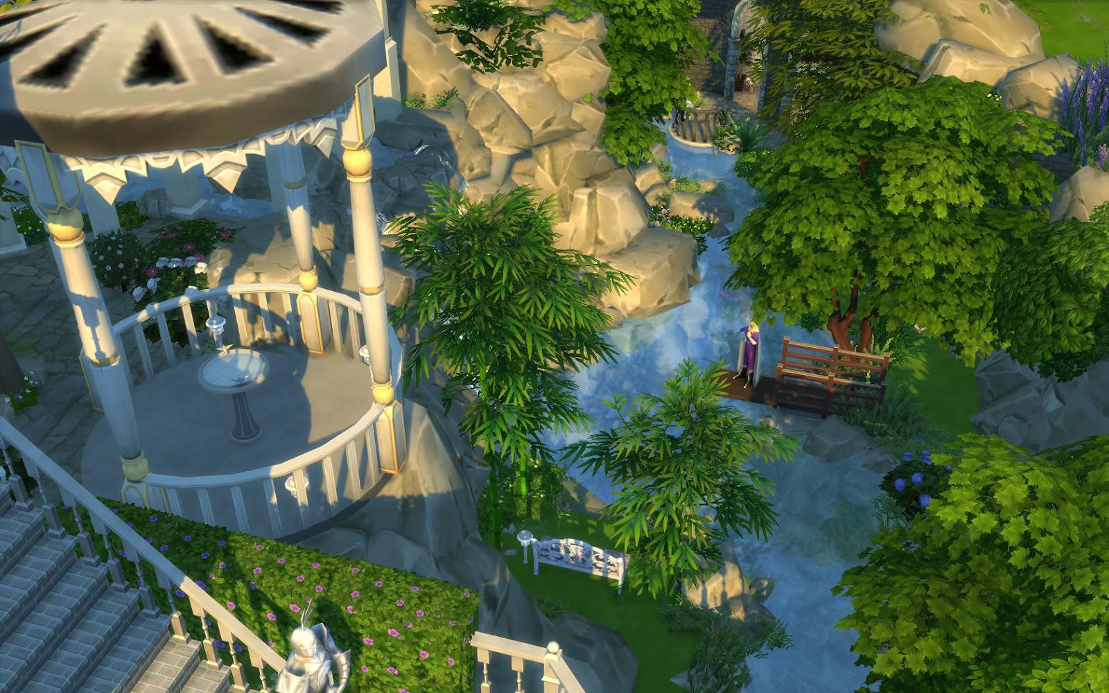 บ้านสวย The Sims 4 อาณาจักรริเวนเดล