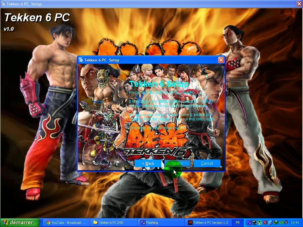 Tekken 6 pc game top full games & softwares.