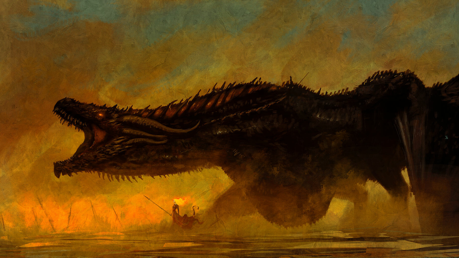 dragon drogon game of thrones