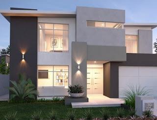 Modern terrace house model design and latest luxury