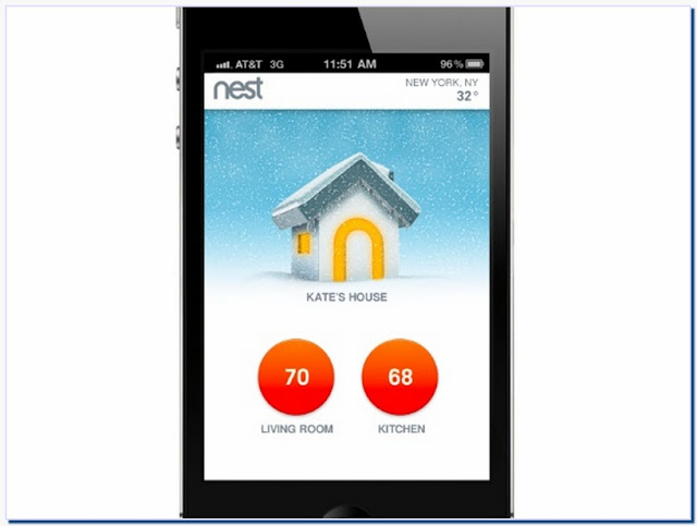 Smart Thermostat Iphone App