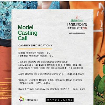 Heneiken Lagos Fashion and Design Week 2017