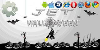 Jet Halloween HTML5 Oyunu 2019
