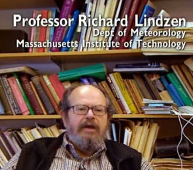 Prof. Richard S. Lindzen, professor do Dep. de Meteorologia do MIT
