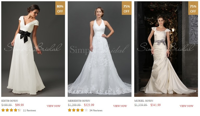 wedding gown $99