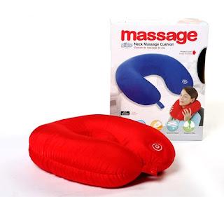 Neck Massage Cushion Alat Relaksasi Leher & Pundak