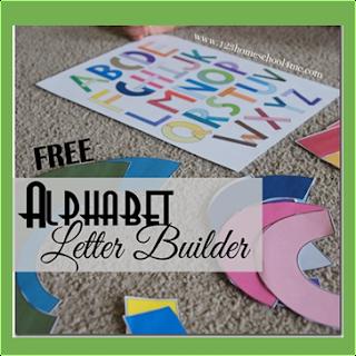 alphabet letter builder