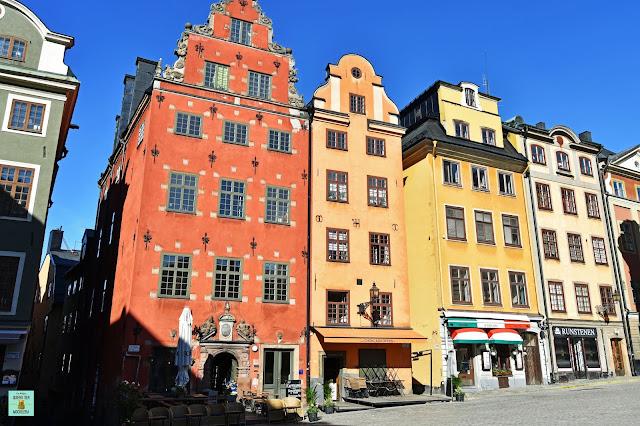 Stortorget en Gamla Stan, Estocolmo