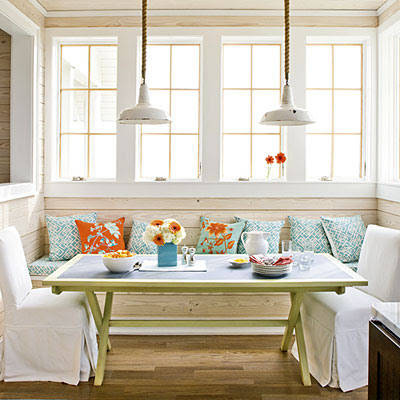 Coastal Style Dining Room | Interior Decorating Tips