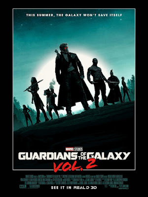 Marvel's Guardians of the Galaxy Vol. 2 Theatrical One Sheet Movie Poster by Matt Ferguson