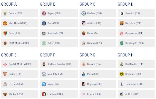 歐洲冠軍足球聯賽直播
