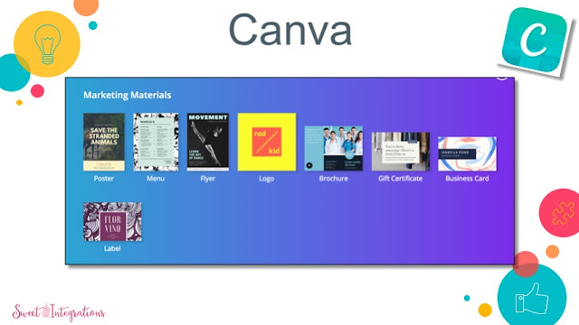 More ideas for using Canva