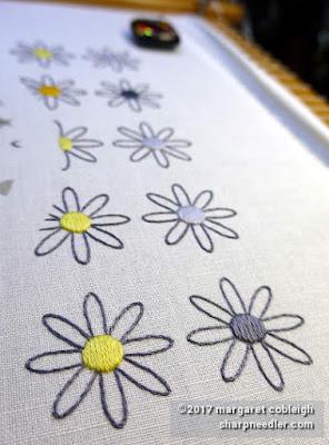 SFSNAD Flower Power Challenge: More daisies