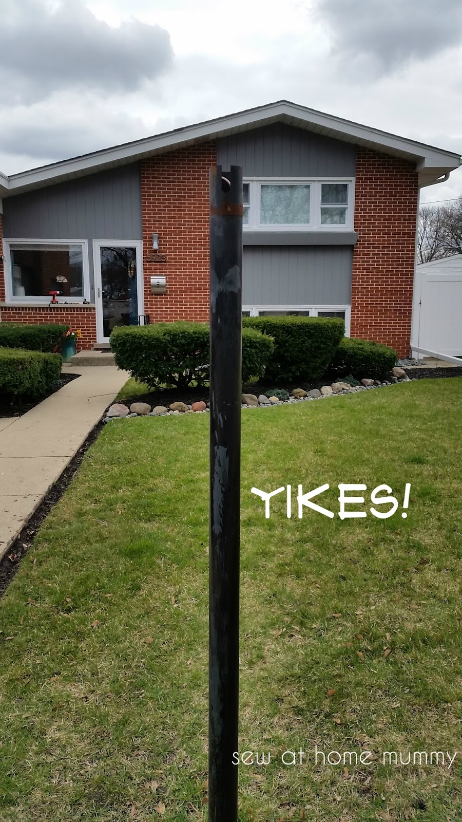 lamp ideaworks outdoor post amazon solar com powered pole yard lighting for led foot with dp