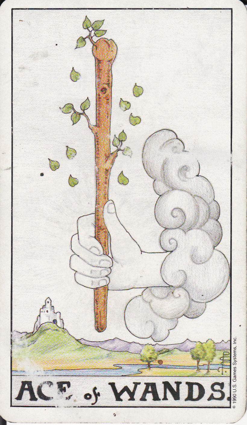 TAROT - The Royal Road: 1 ACE OF WANDS I