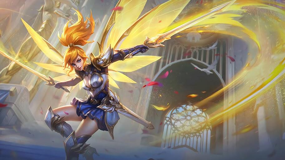 fanny lightborn ranger skin mobile legends uhdpaper.com 4K 7.549