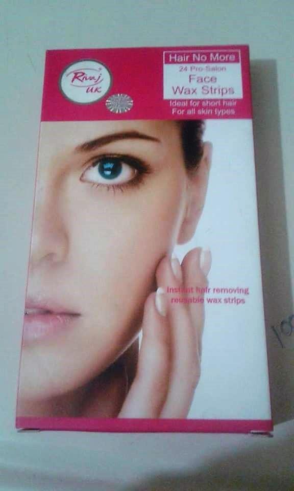 Rivaj Uk Face Wax Stripes Review