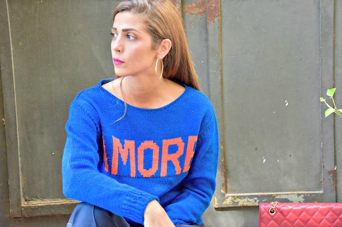 Trend alert: il maglione con la scritta