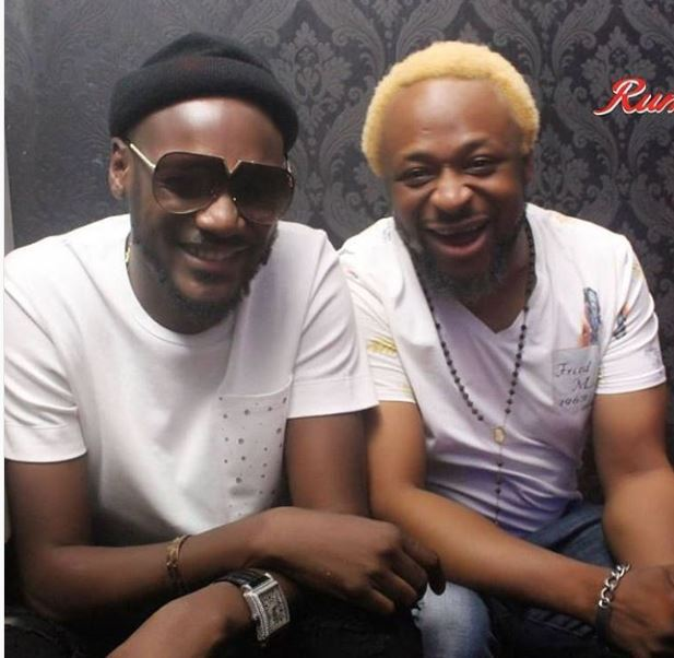 Long Time Pal 2Face Idibia Who Hit The Music Scene Around Same Many Years Ago While Signed To Kennis Reunited In Lagos Recently