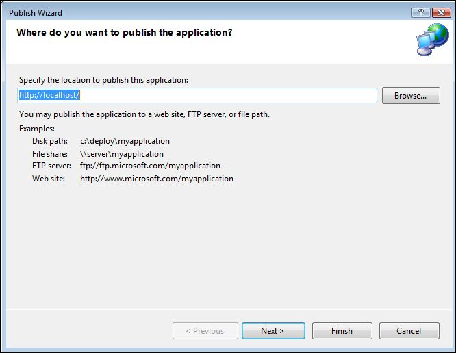 How To: Publish a ClickOnce application in Visual Studio 2010