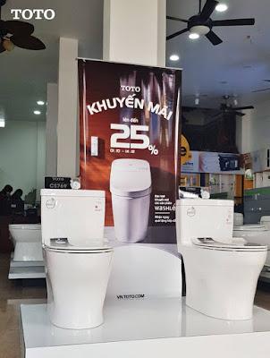 Tìm mua thiết bị vệ sinh TOTO chiết khấu giá tốt 2019 mới nhất