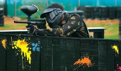 Hasil gambar untuk Cara Bermain Dengan Paintball Gun Dengan Aman