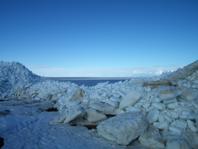 Laitapauha, jäärovat, jää, talvi, kevät, jääröysät, meri