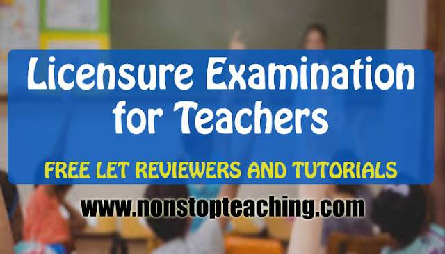 Licensure Examination fo Teachers