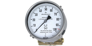 differential pressure gauge for cryo tank level indication