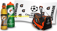 Logo Fai la differenza e vinci 140 kit Gatorade