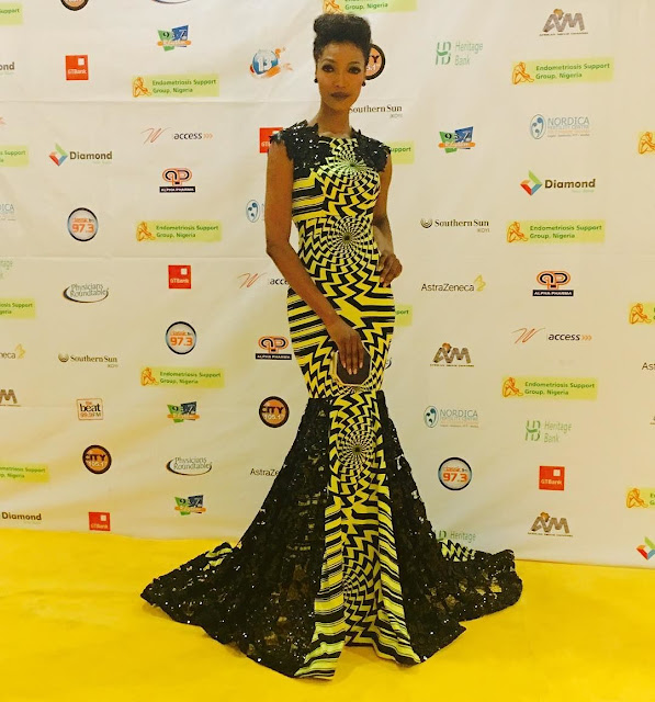 Millen Magese's stunning looks at EndoGala Nigeria