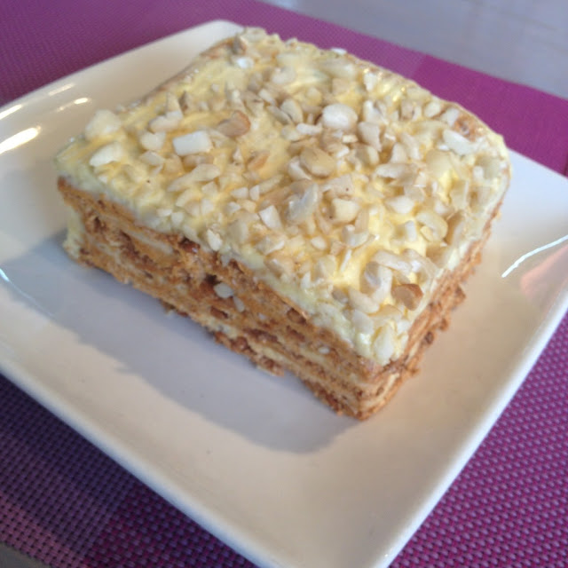Sans rival at Pink Heaven Bakeshop