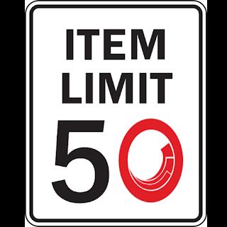 Sitecore Item Limit