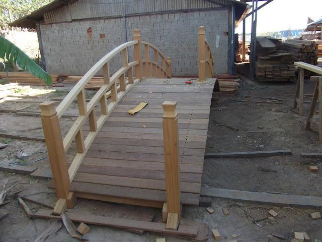 ponte para jardim japones
