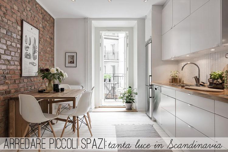 Arredamento Casa Piccoli Spazi.Arredare Piccoli Spazi Tanta Luce In Scandinavia Home