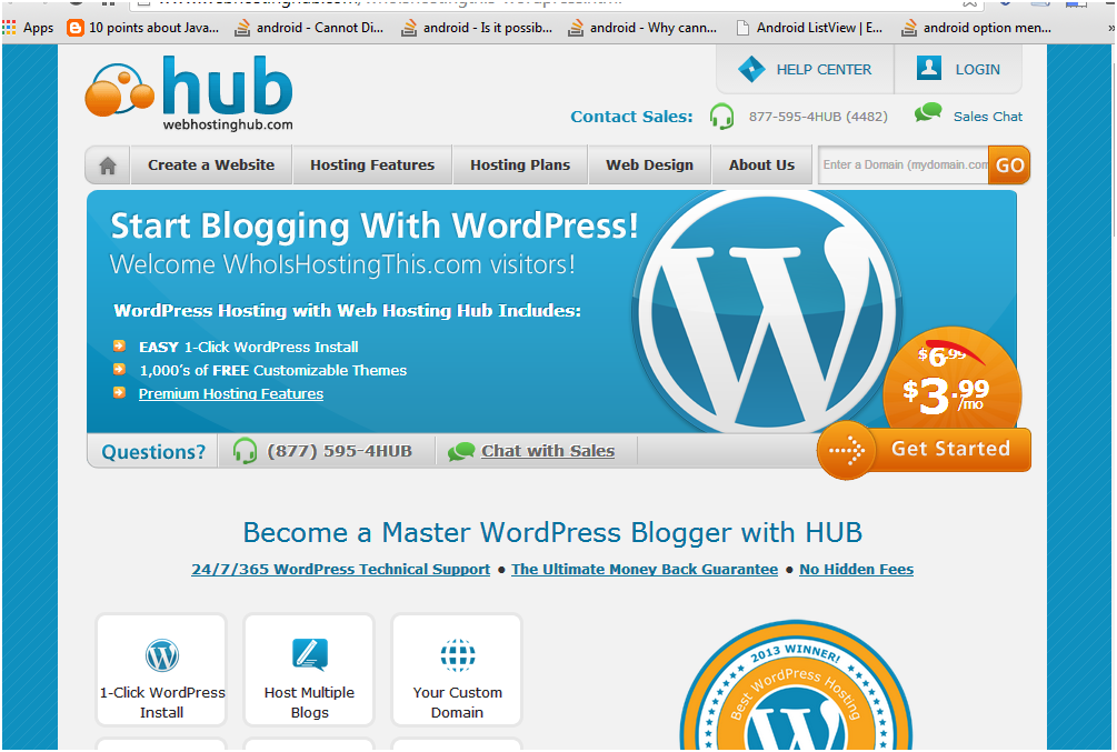 Best wordpress hosting sites in 2014 - hubhost